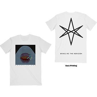 Bring Me The Horizon - Parassita Unisex XX-Large T-Shirt - Bianco
