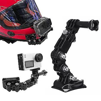 Motorcycle Helmet Mount  Curved Adhesive Arm For Camera