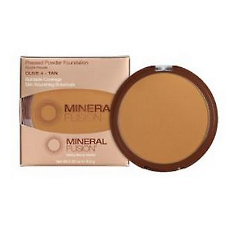 Mineral Fusion Pressed Powder Foundation Olive 4, .32 Oz