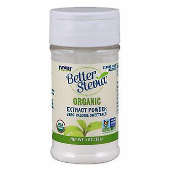 Nyt Elintarvikkeet BetterStevia Extract Powder Organic, 1 OZ