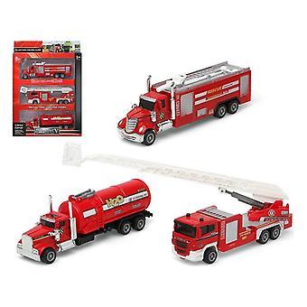 Set of cars Fireman Red 110899 (3 Pcs)