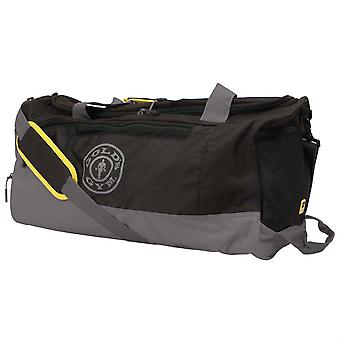 Golds Gym Contrast Travel Bag Sports Training Fitness Workout Sack Top Handles