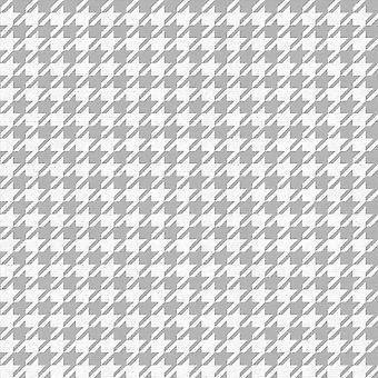 Muriva Houndstooth Silver White 179502