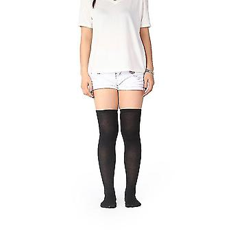 Womem Long Cotton Socks Over Knee Thigh High Hose Trendy Stockings