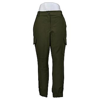 Brittany Humble Women's Pants Cargo Jogger Green 725-016