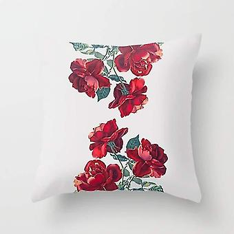 Roses Printed Throw Pillow Or Cover