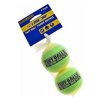 Petsport Tuff Ball Turbo Bounce - 2 Count