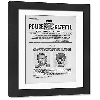 The Great Train Robbery. Framed Photo. The Great Train Robbery, 8th August 1963. Wanted Poster for.