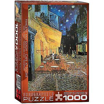 Jigsaw puzzles cafe at night by vincent van gogh puzzle 1000 pieces
