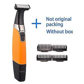 Kemei akumulator elektryczny golarka broda golarka elektryczna maszynka do golenia mężczyźni maszyna do golenia włosy