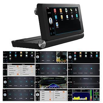 """Wifi 7"""" Hd 1080p Auto Duálny fotoaparát Zadný rekordér DVR s GPS Navigator"""