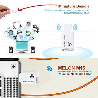 Pro Melonmtk7601 2,4 gHz 150 Mbps vezeték nélküli usb adapter hálózati kártya