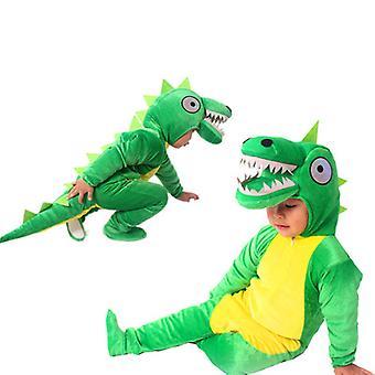 Overlord Dinosaur Costume Tiger Dinosaur Animal Déguisement Costume Hooded Romper Combinaison