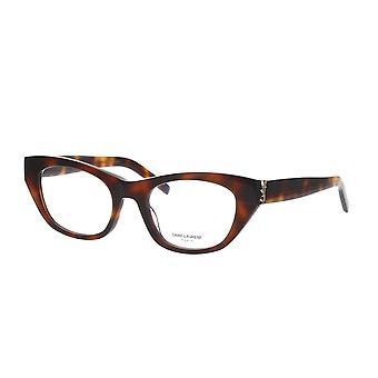 Saint Laurent SL M80 002 Havana Glasses