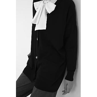 Button Front Knitwear Cardigan With Pockets