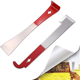 Beehive Scraper Set, Flat Scraper, Honey Cutting Knife (2 Pieces)