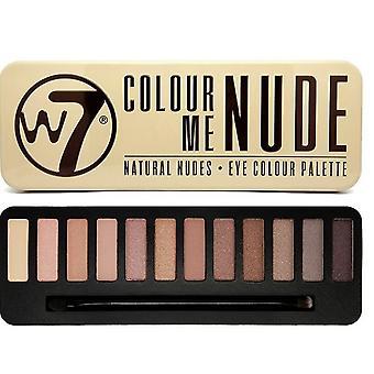 W7 Kolor mnie nagie Eyeshadow Palette