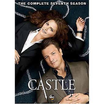 Castle: Complete Seventh Season [DVD] USA import