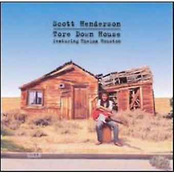 Scott Henderson - Tore Down House [CD] USA import