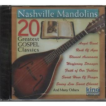 Nashville Mandolins - 20 Greatest Gospel Classics [CD] USA import