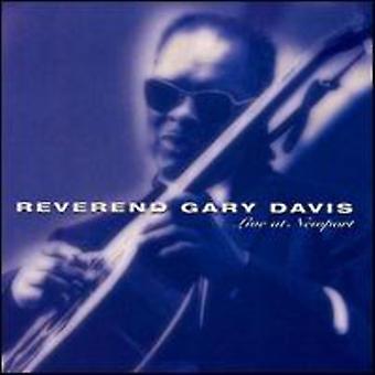 Révérend Gary Davis - Live à l'importation USA Newport [CD]