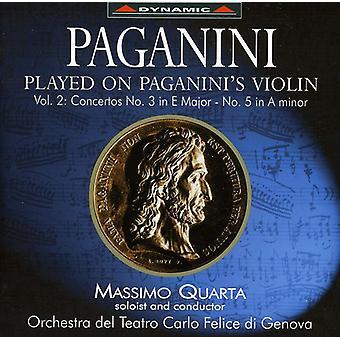N. Paganini - Paganini Played on Paganini's Violin, Vol. 2 [CD] USA import