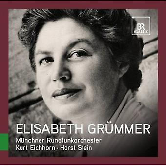 W.a. Mozart - Great Singers Live: Elisabeth Gr Mmer [CD] USA import