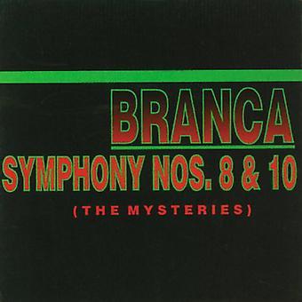Glenn Branca - Glenn Branca: Symphony Nos. 8 & 10 the Mysteries [CD] USA import