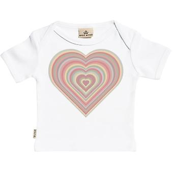 Spoilt Rotten Warm Heart Short Sleeve Baby T-Shirt