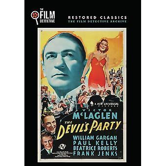Devil's Party [DVD] USA import