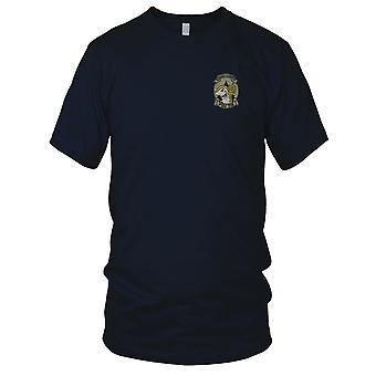 Amerikaanse kustwacht PSU308 Port kust Security - militaire insignes Vietnamoorlog geborduurd Patch - Mens T Shirt