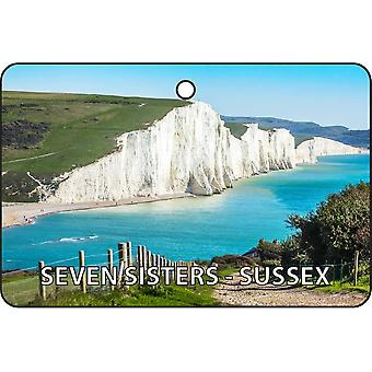 Seven Sisters - Sussex bil Air Freshener