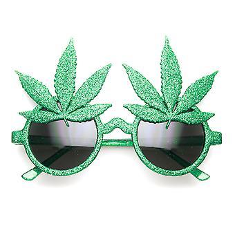 La marijuana feuille Ganja Bud Pot Weed nouveauté Fun Party lunettes de soleil