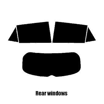 Pre cut ikkunasävy - Kia Stonic 5-ovinen - 2017 ja uudempi - takaikkunat