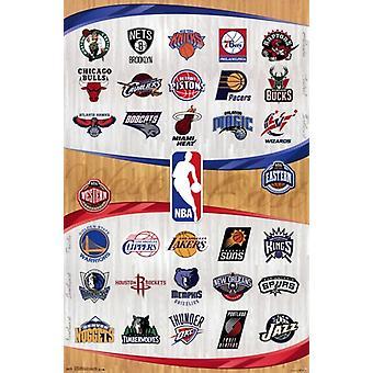 NBA - logot 13 Juliste Tulosta