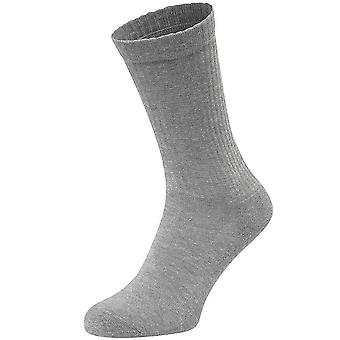 Fruit Of The Loom Unisex Plain Crew Socks (Pack Of 3)