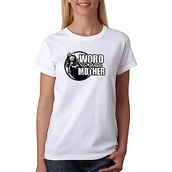 Married With Children Peggy Word Mother Women's White T-shirt