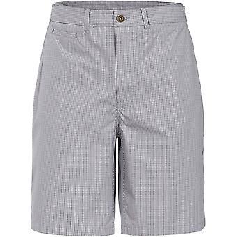 Intrusion Mens Quantum tissé coton plus longue longueur Shorts Casual