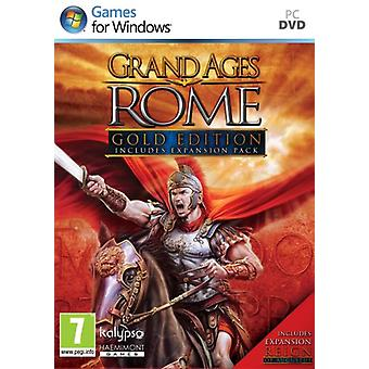 Grand Ages Rome-Gold Edition (PC DVD)-ny