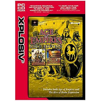 Age of Empires-Gold Edition (PC CD)-nytt