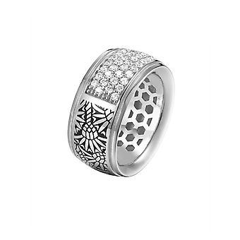 Firma de Joop mujer anillo plata zirconia JPRG90743A