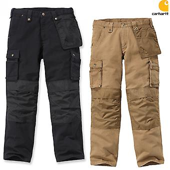 Carhartt washed duck multi-Pocket trousers