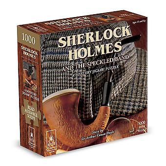 Sherlock Holmes și trupa Speckled mister Jigsaw Puzzle (1000 bucăți)