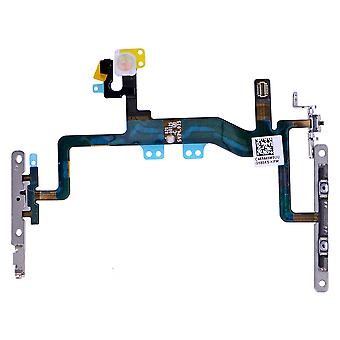 iPhone 6S Power Button Flex Cable with Metal Bracket Assembly