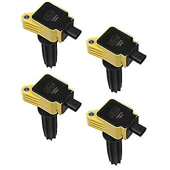 ACCEL 140670-4 Super Coil OEM Replacement Yellow 4 Pack Super Coil