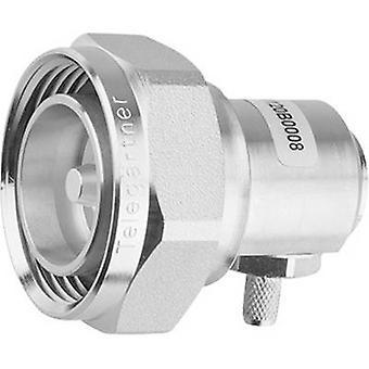Telegärtner J01120C0010 7-16 DIN connector Plug, right angle 50 Ω 1 pc(s)
