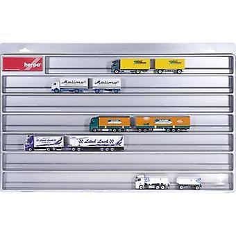 Herpa 029728 H0 Display cabinet Plastic 700 mm x 450 mm x 35 mm