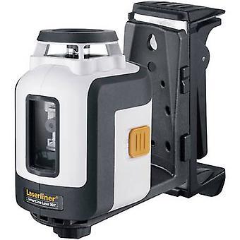 Laserliner SmartLine-Laser 360° Plus Set Cross line laser Self-levelling Range (max.): 30 m Calibrated to: Manufacturers standards (no certificate)