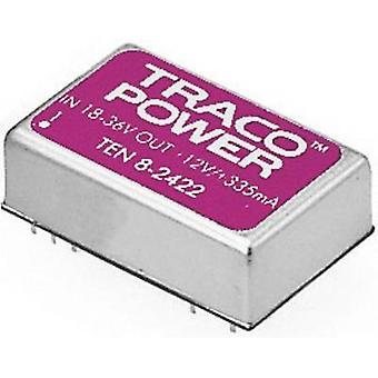 TracoPower TEN 8-4811 DC/DC converter (print) 48 V DC 5 V DC 1.5 A 8 W No. of outputs: 1 x