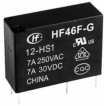 Hongfa HF46F-G/012-HS1 PCB relay 12 V DC 10 A 1 maker 1 pc(s)